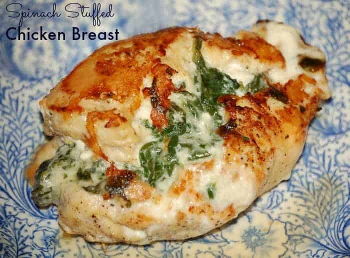 Spinach Stuffed Chicken Breast | Faithfully Free
