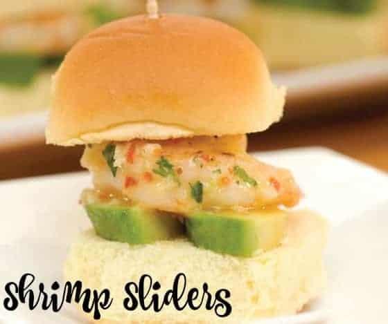 California Style Shrimp Sliders