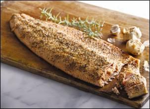 Rosemary Garlic Salmon Recipe