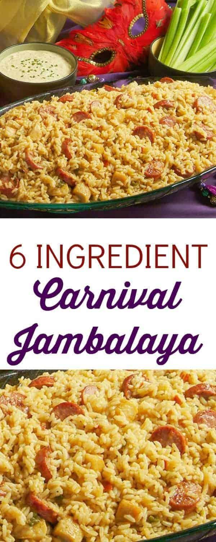Carnival jambalaya recipe faithfully free 6 ingredient carnival jambalaya forumfinder Choice Image