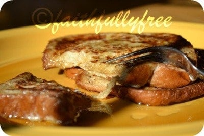 Poor Man S French Toast Easy Recipe Faithfully Free