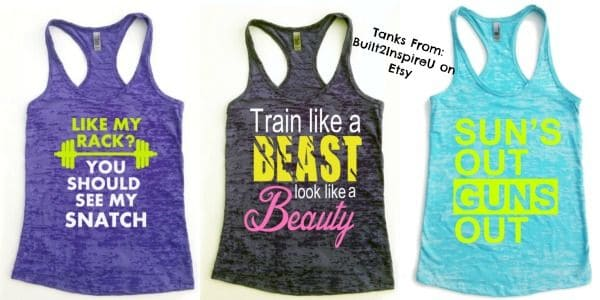 Funny Gym Tanks Faithfully Free