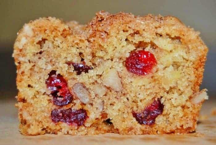 Cranberry-Apple-Nut Bread Breakfast Recipe