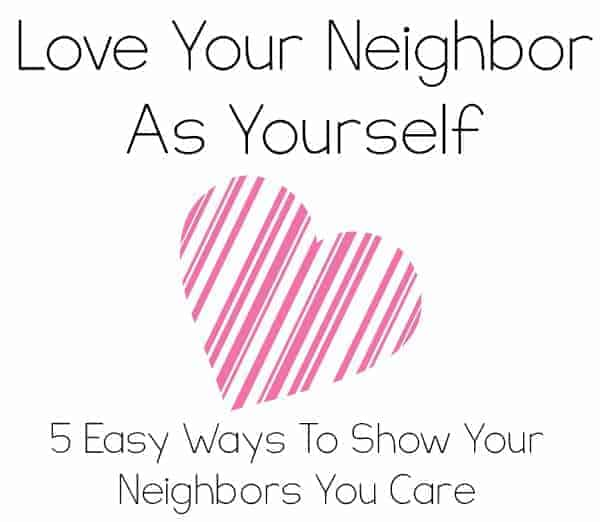 Love Your Neighbor As Yourself Faithfully Free