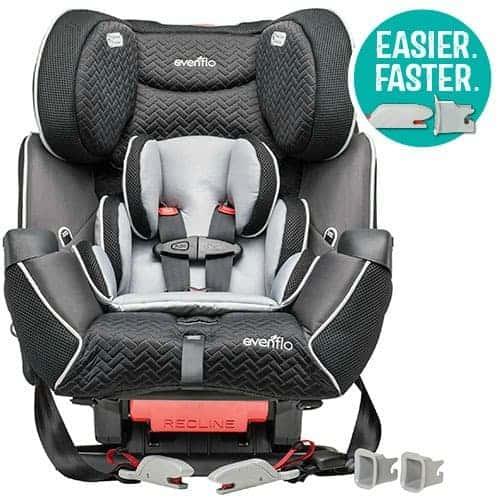 evenflo symphony lx car seat review faithfully free. Black Bedroom Furniture Sets. Home Design Ideas