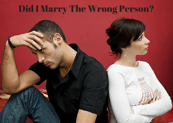 Did I Marry The Wrong Person-