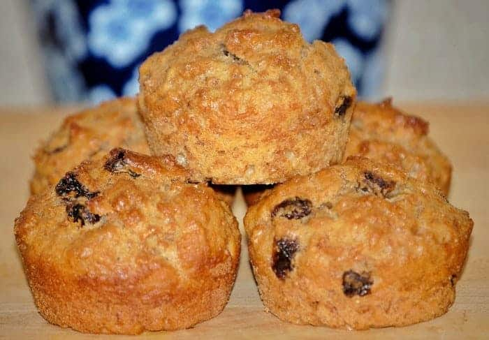 Raisin Bran Muffins Breakfast Recipe Faithfully Free