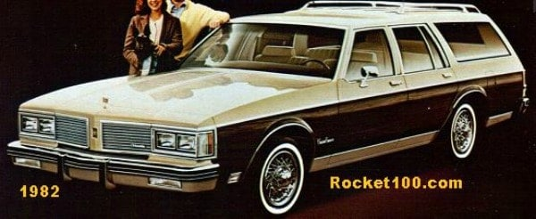 1982 Oldsmobile Station Wagon