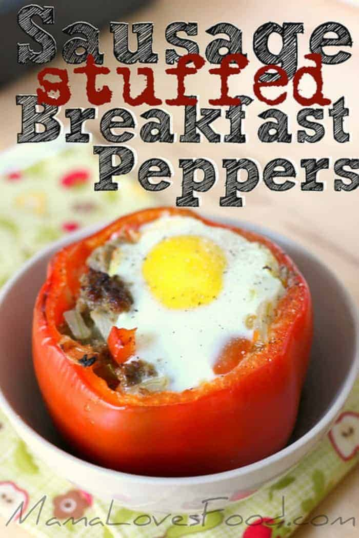 Sausage-And-Egg-Stuffed-Peppers