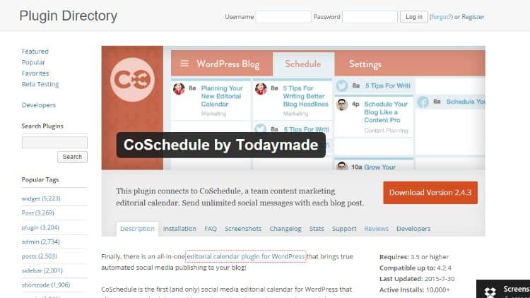 CoSchedule-Plugin