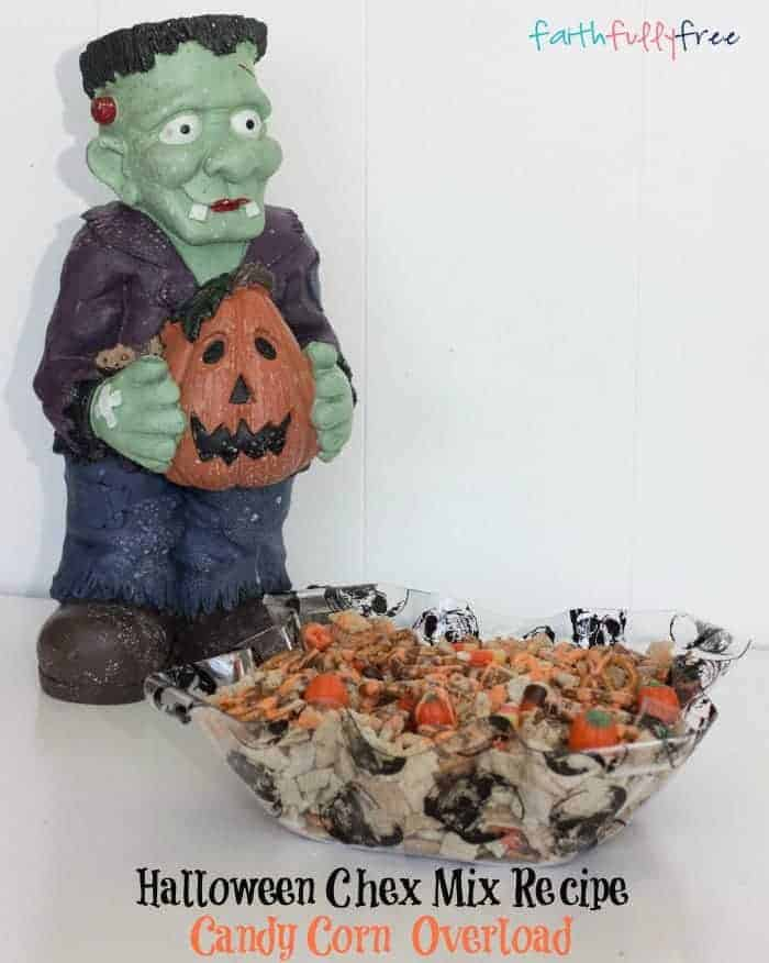 Halloween Chex Mix Recipe Candy Corn Pillsbury