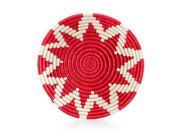 Rwanda 10th Anniversary Woven Sun Basket