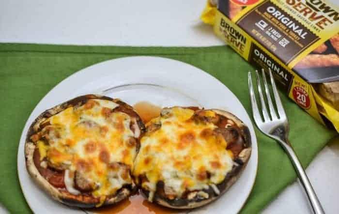 Portobello Mushroom Pizza Recipe
