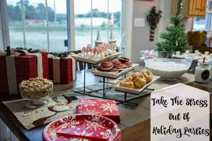 Take the stress out of holiday parties with Big Lots. Christmas party food and Christmas party decor.