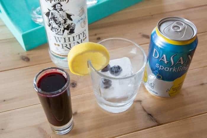 Rum Lemonberry Drink Recipe