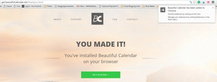 Simple Beautiful Online Calendars Review