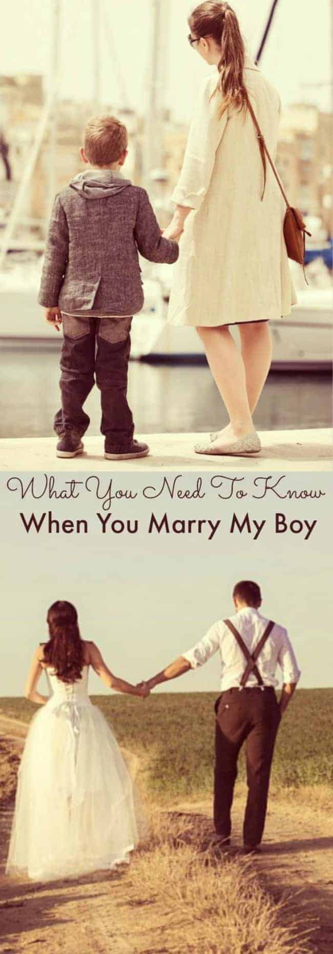 What You Need To Know When You Marry My Baby Boy