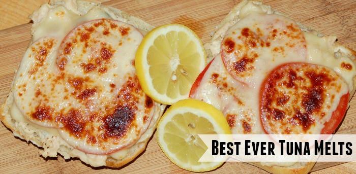 Best Ever Tuna Melts Recipe