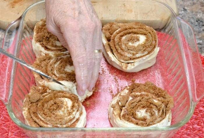 Easy Quick Cinnamon rolls