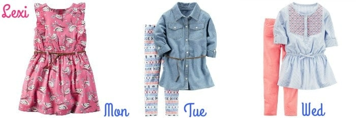2016 Girls Style Carter's Fall Outfits Top Picks