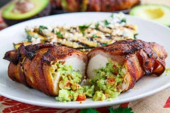 bacon-wrapped-guacamole-stuffed-chicken