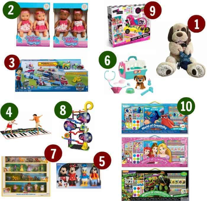 BJ's exclusive Top 10 Toys list