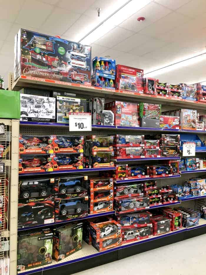 Big Lots Toy Section Cars