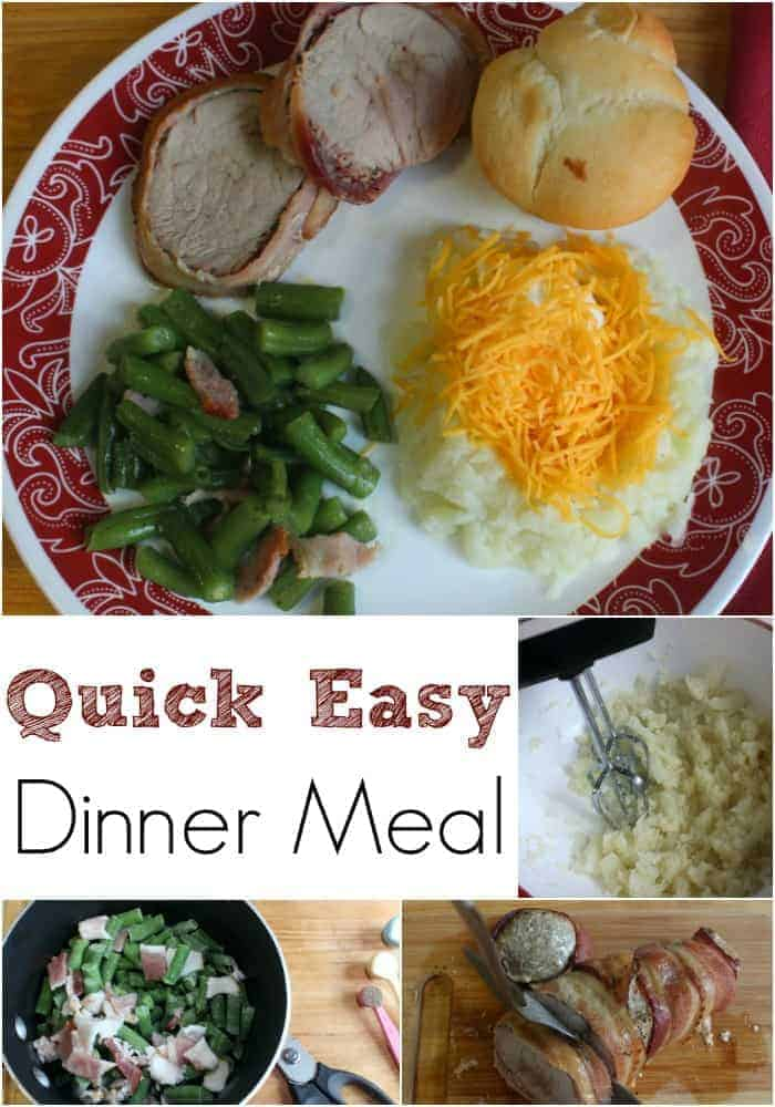 Here is a delicious to eat and quick easy dinner meal idea that will have your family wondering how you did it.
