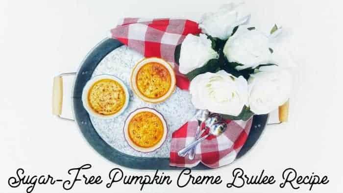 Sugar-Free Pumpkin Creme Brulee Recipe