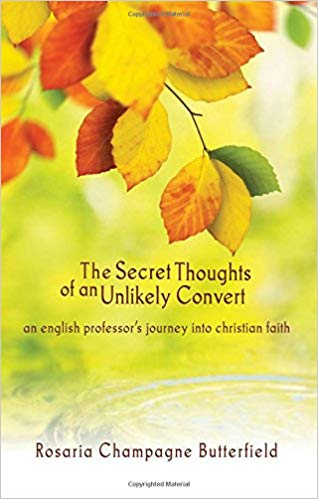 Secret Thoughts of an Unlikely Convert Book Thoughts
