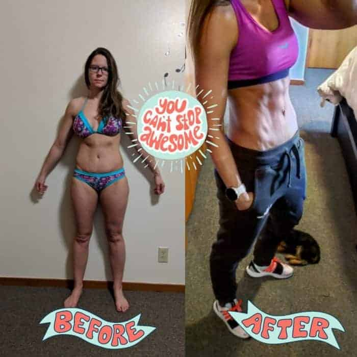 Mom of four loses 20lbs in two months
